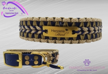 "Halsband ""First Gold"" Gr. 43 (verstellbar + 5cm)"
