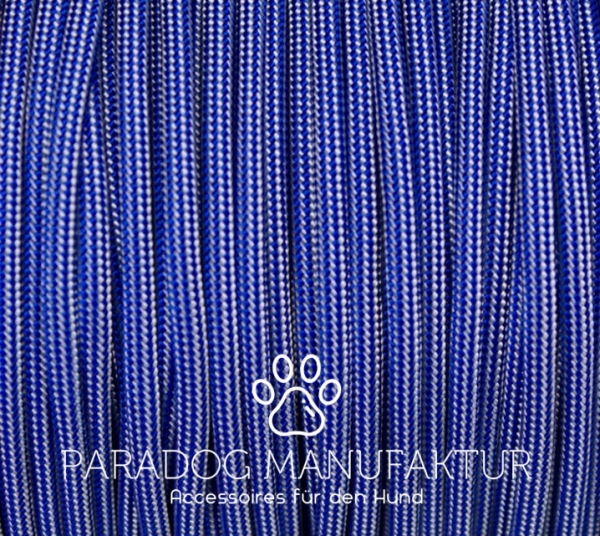 Electric Blue - Silver Stripes Typ 3